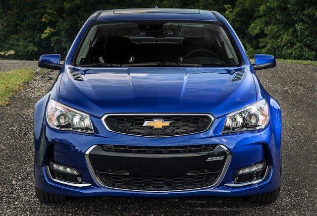 2016 Chevrolet SS blue