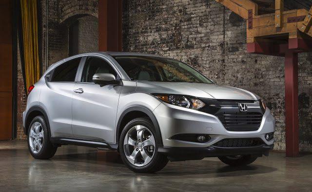 2016 Honda Hr-V silver