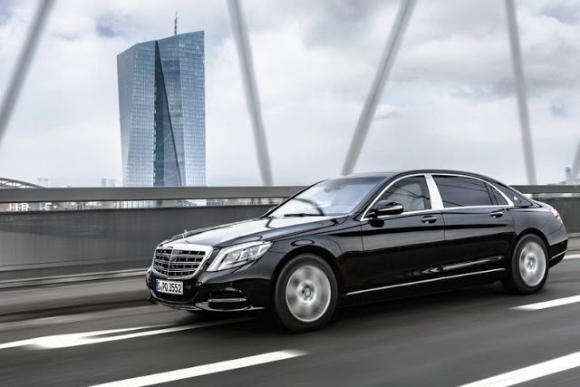 2017 Mercedes-Benz S600 Guard