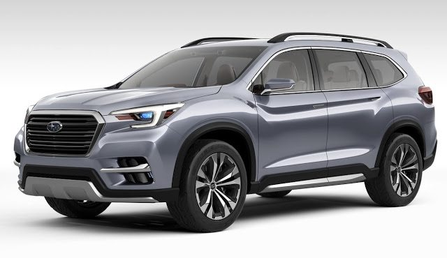 2017 Subaru Ascent concept