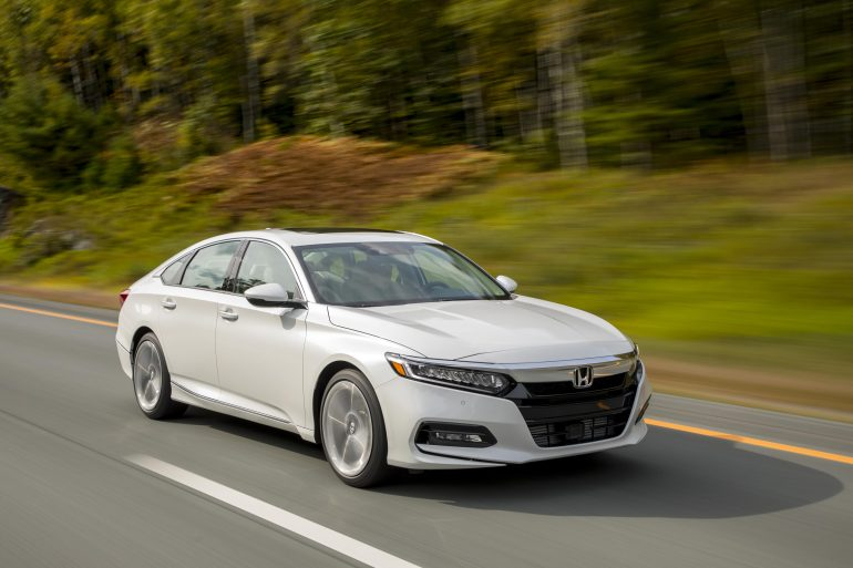 10 Honda Accord Top-10 Best-selling Vehicles in the USA to date for 2017