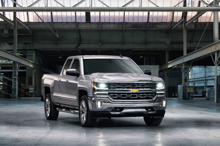 2- Chevrolet Silverado Top-10 Best-selling Vehicles in the USA to date for 2017