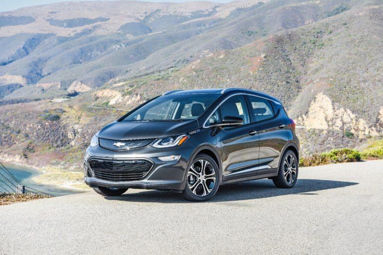 2018 Chevrolet Bolt EV - Image: Chevrolet