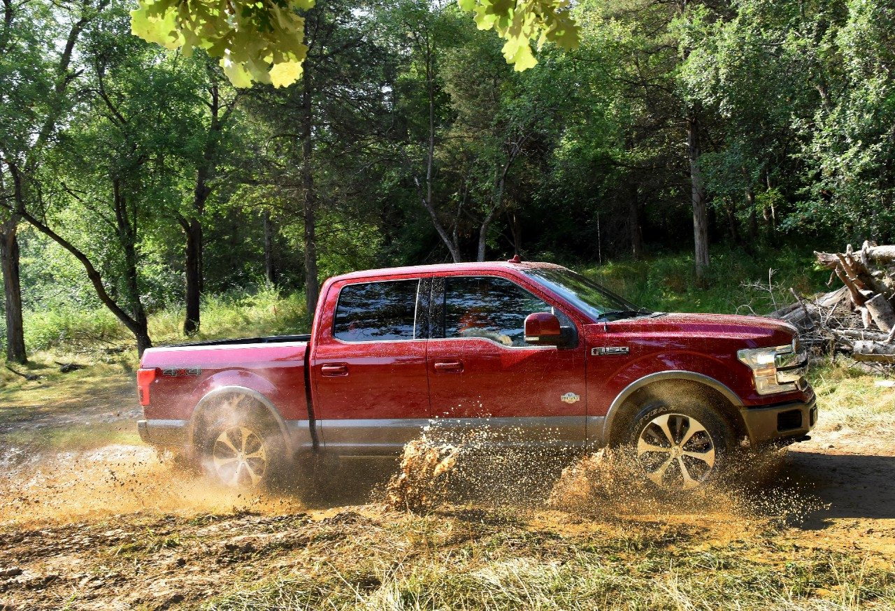 2018 Ford F-150 Media Drive - Image: Ford