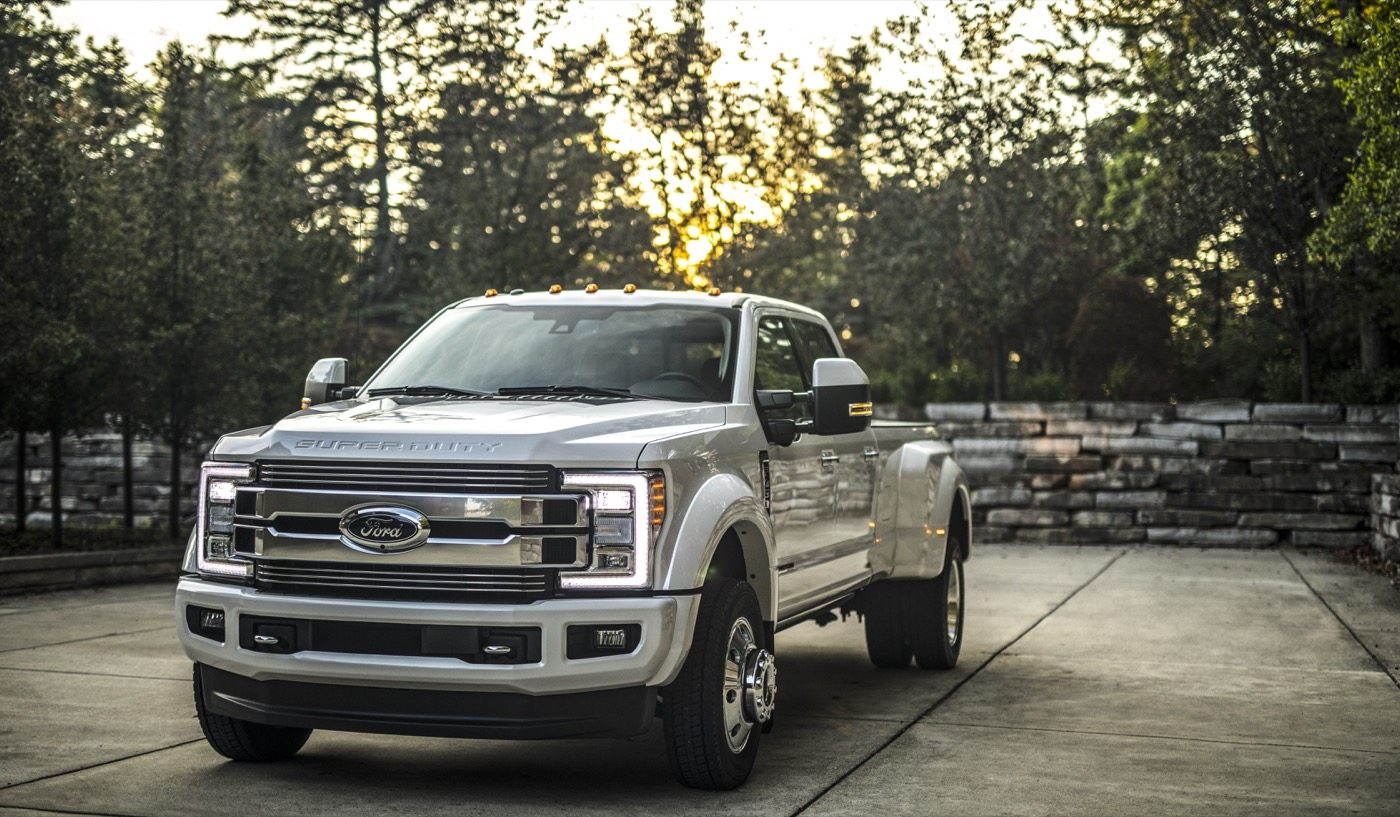 2018 Ford F-Series Super Duty Limited - Image: Ford