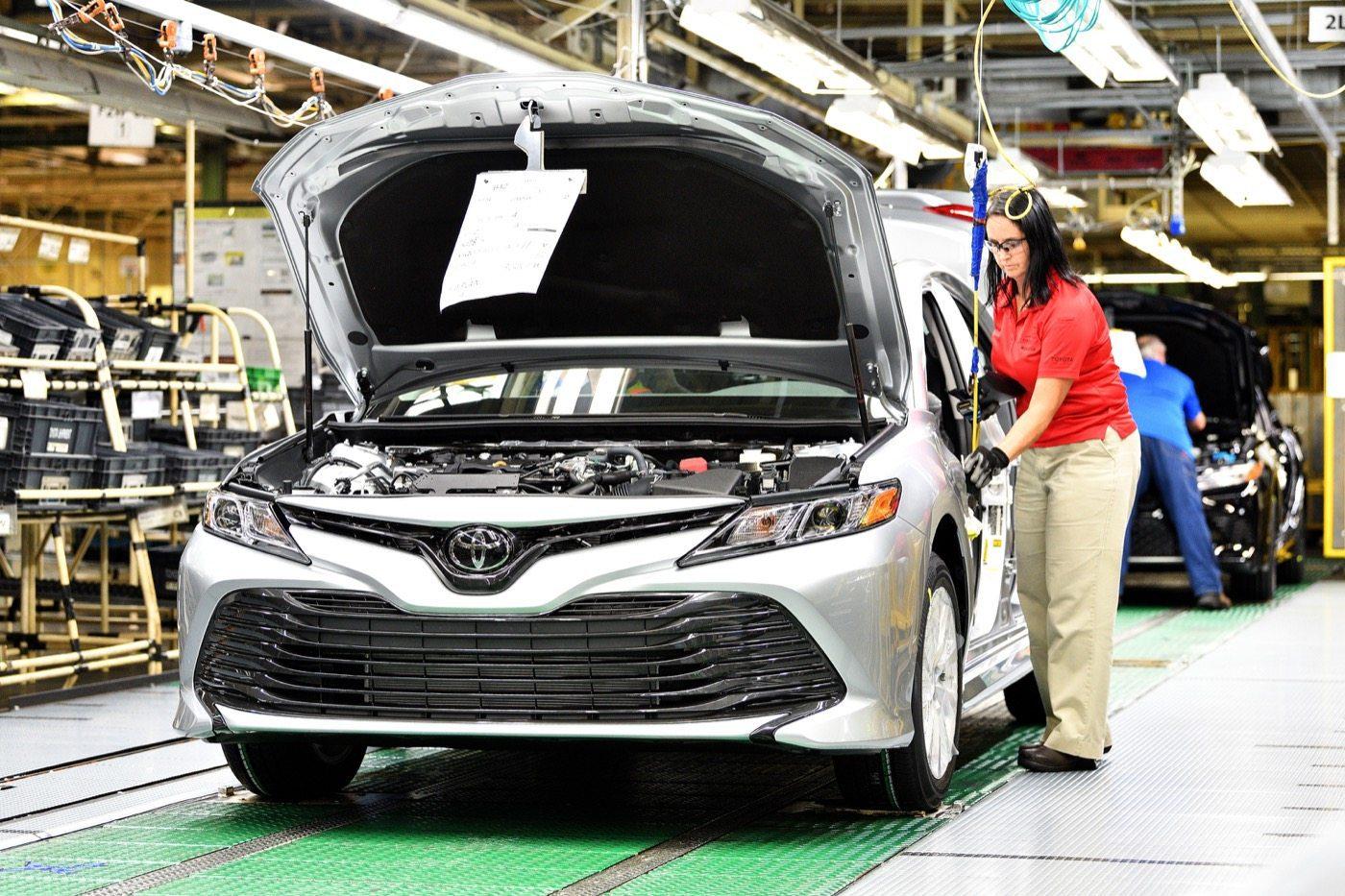 2018 Toyota Camry Kentucky Factory - Image: Toyota
