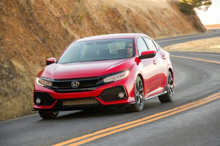 6 Honda Civiv Top-10 Best-selling Vehicles in the USA to date for 2017