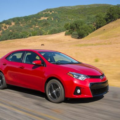 9 Toyota Corolla Top-10 Best-selling Vehicles in the USA to date for 2017