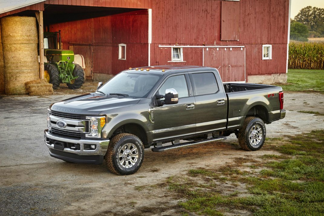 The Ford F-Series, one of Ford's top-selling cars in the USA  in 2017