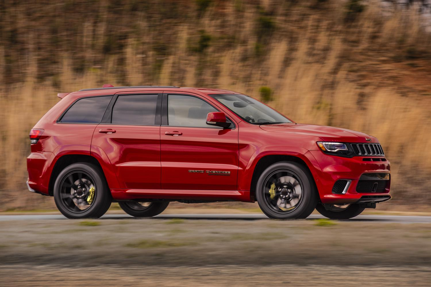Jeep Grand Cherokee, one of Jeep's top selling vehicles in calendar year 2017