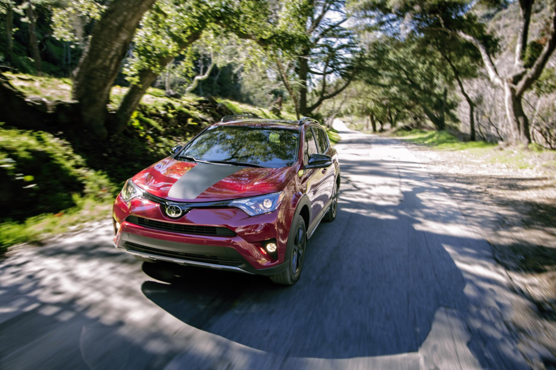 Toyota RAV4, one of Toyota's's top selling vehicles in the USA in 2017