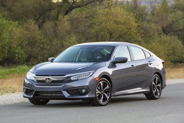 Honda Civic, one of Honda's top selling vehicles in calendar year 2017