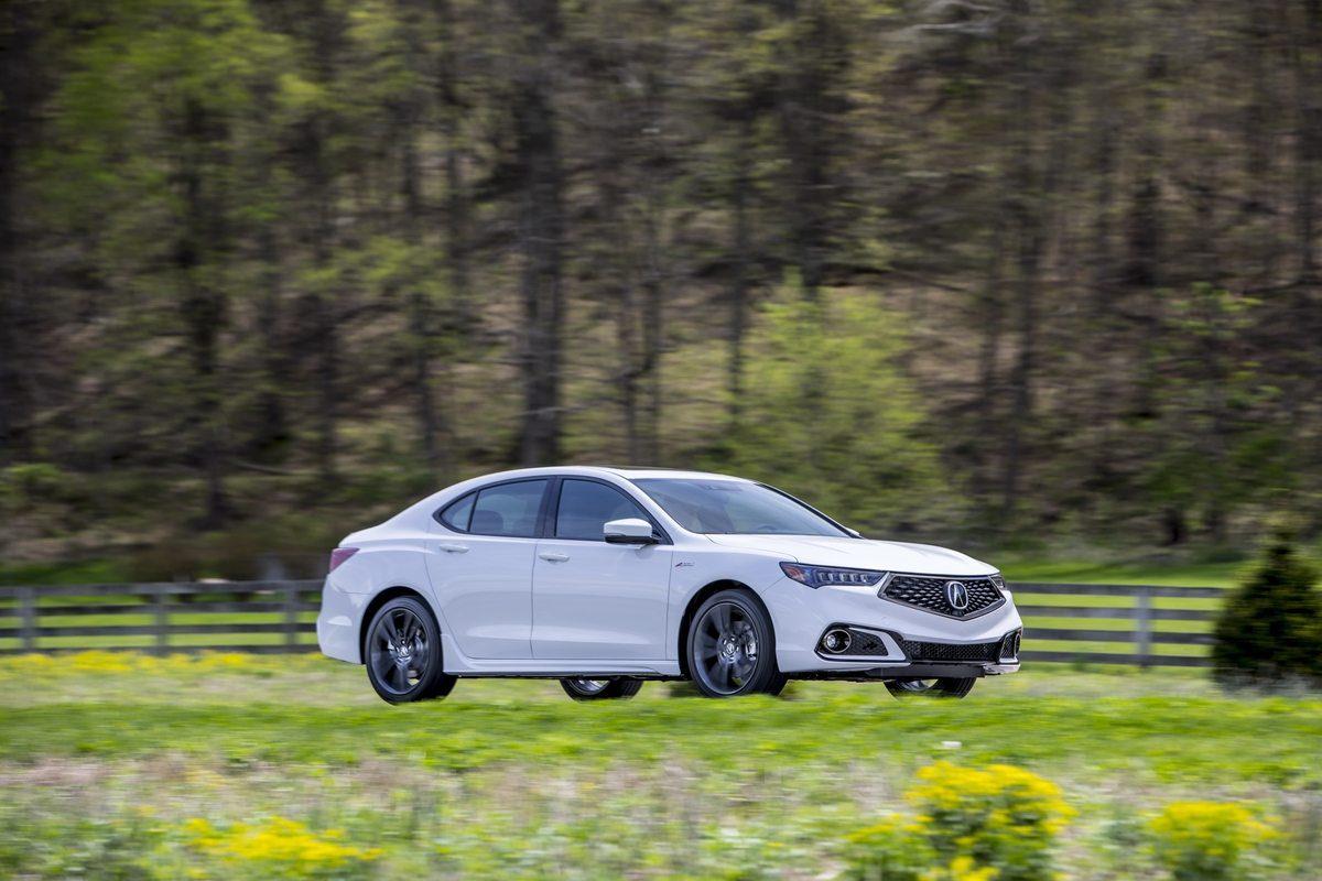 2018 Acura TLX V6 A-Spec - Image: Acura