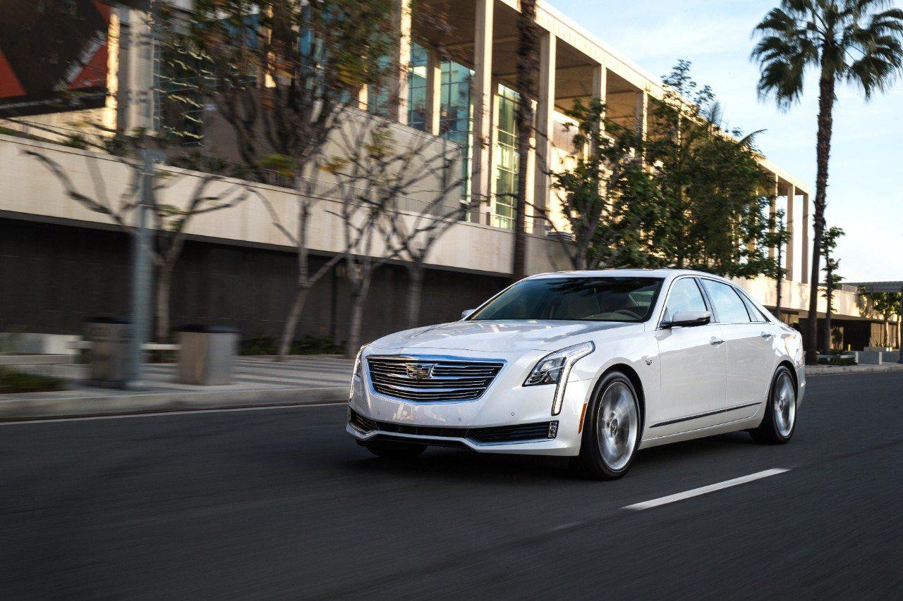 2018 Cadillac CT6 - Image: Cadillac