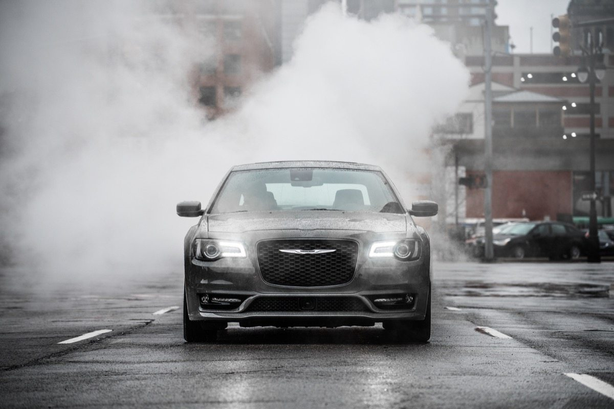 2018 Chrysler 300S with 5.7-liter HEMI® V-8 engine - Image: Chrysler