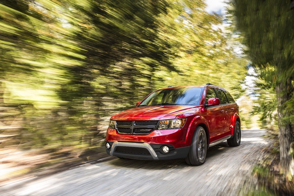 2018 Dodge Journey Crossroad - Image: Dodge
