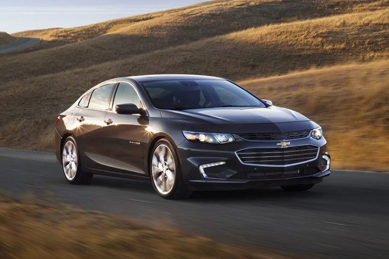 Chevrolet Malibu, one of Chevrolet's top selling vehicles in calendar year 2017