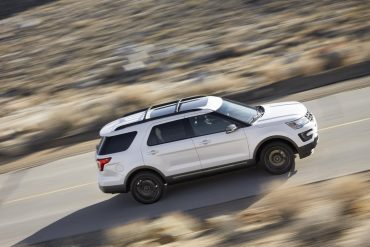 Ford Explorer, one of Ford's top selling vehicles in the USA in 2017