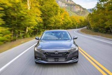 Honda Accord, one of Honda's top selling vehicles in calendar year 2017