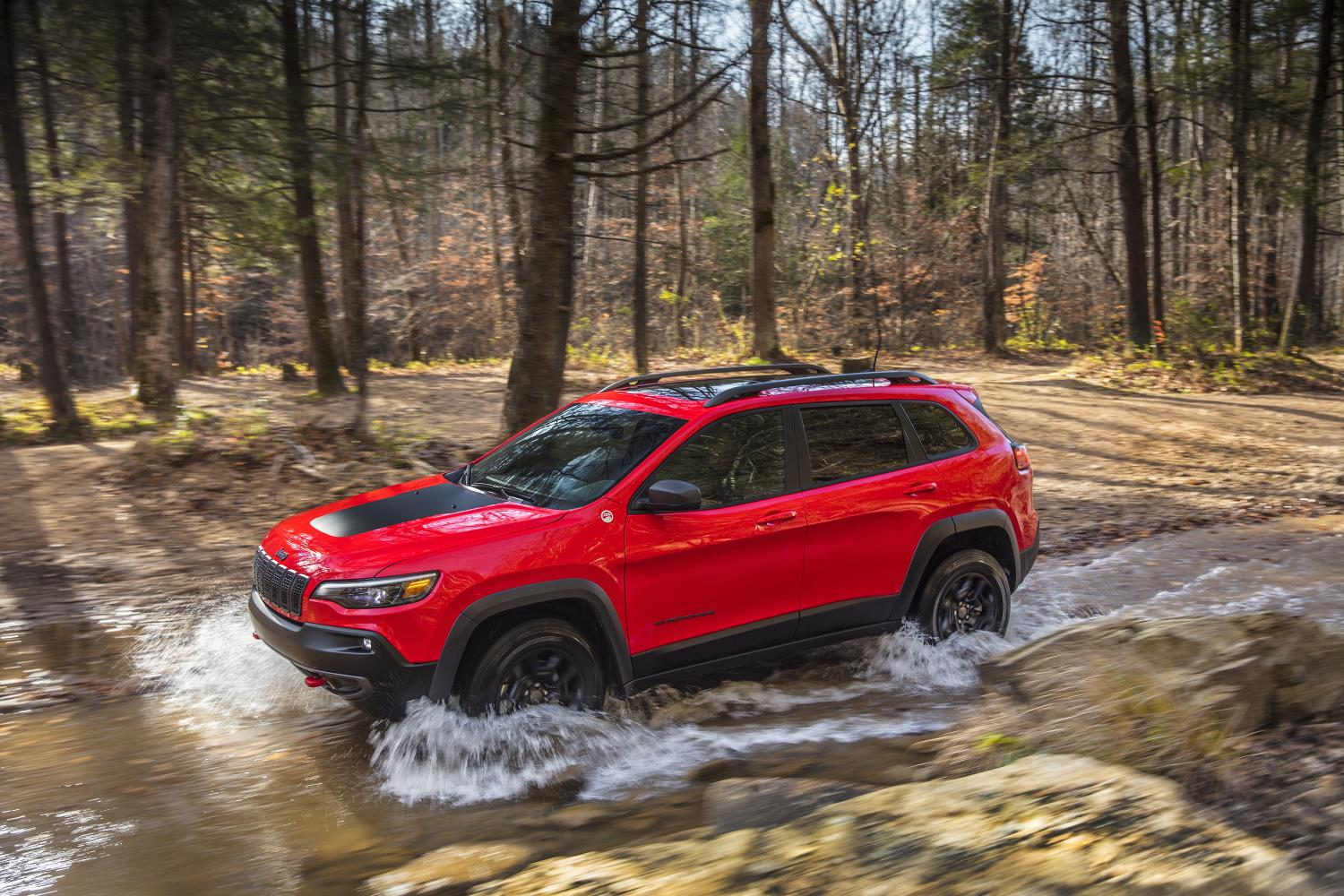 Jeep Cherokee, one of Jeep's top selling vehicles in calendar year 2017
