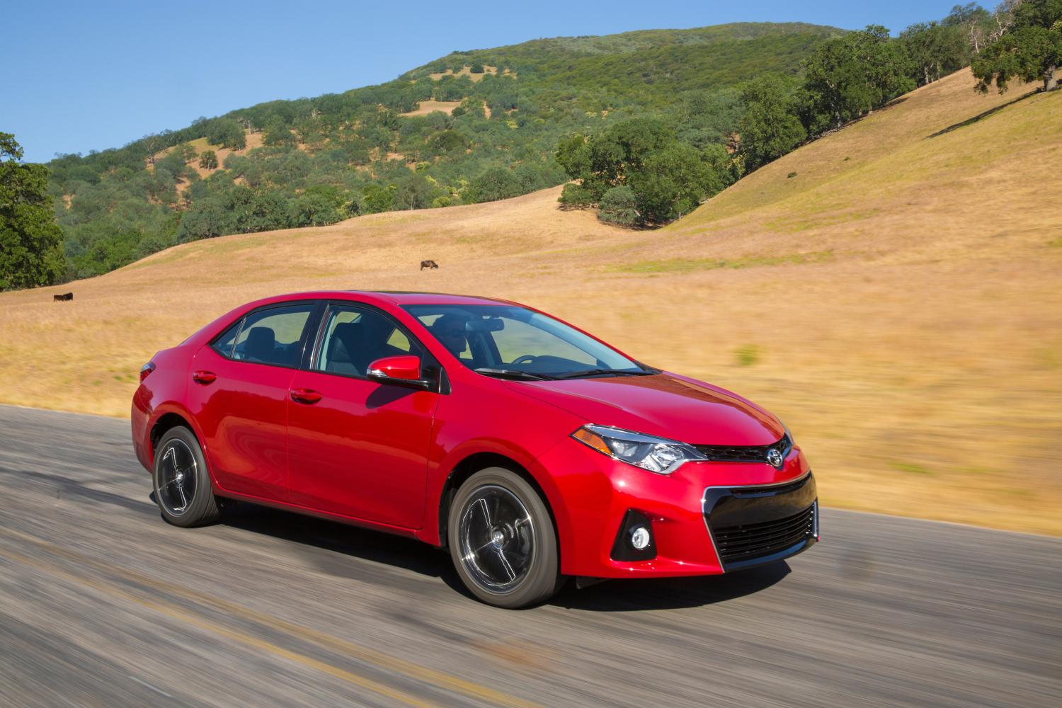 Toyota Corolla, one of Toyota's's top selling vehicles in the USA in 2017