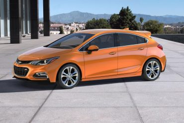Chevrolet Cruze, one of Chevrolet's top selling vehicles in calendar year 2017
