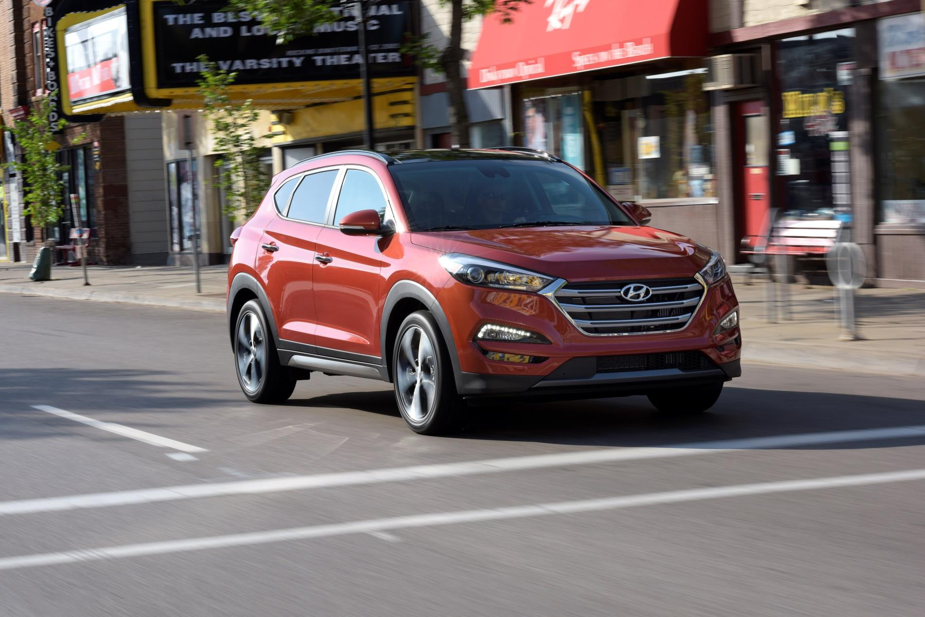 Hyundai Tucson, one of Hyundai's top selling vehicles in calendar year 2017