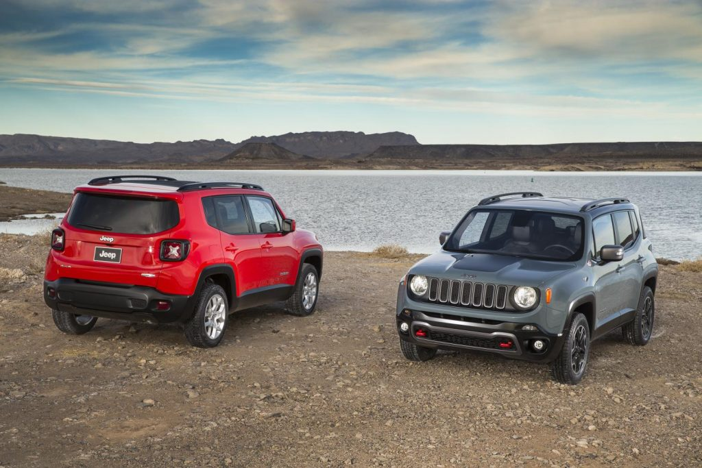 Jeep Renegade, one of Jeep's top selling vehicles in calendar year 2017