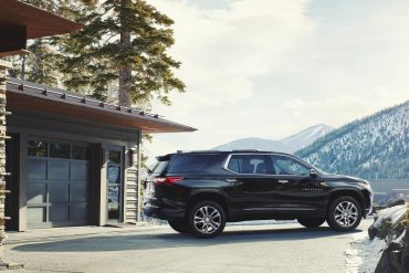Chevrolet Traverse, one of Chevrolet's top selling vehicles in calendar year 2017