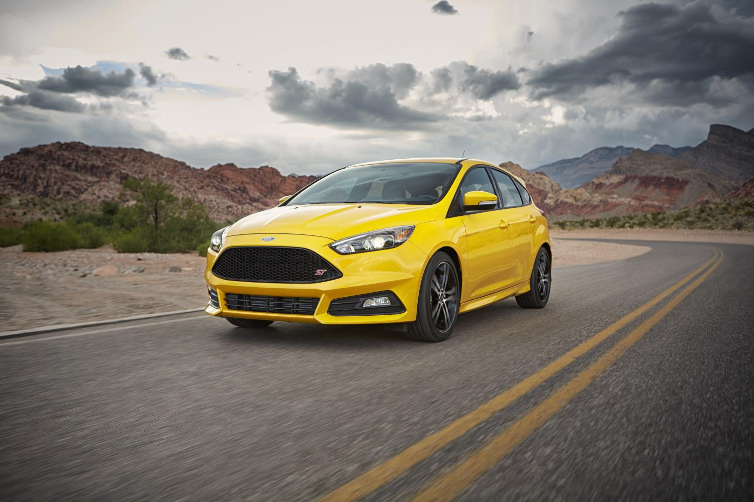 Ford Focus, one of Ford's top selling vehicles in the USA in 2017