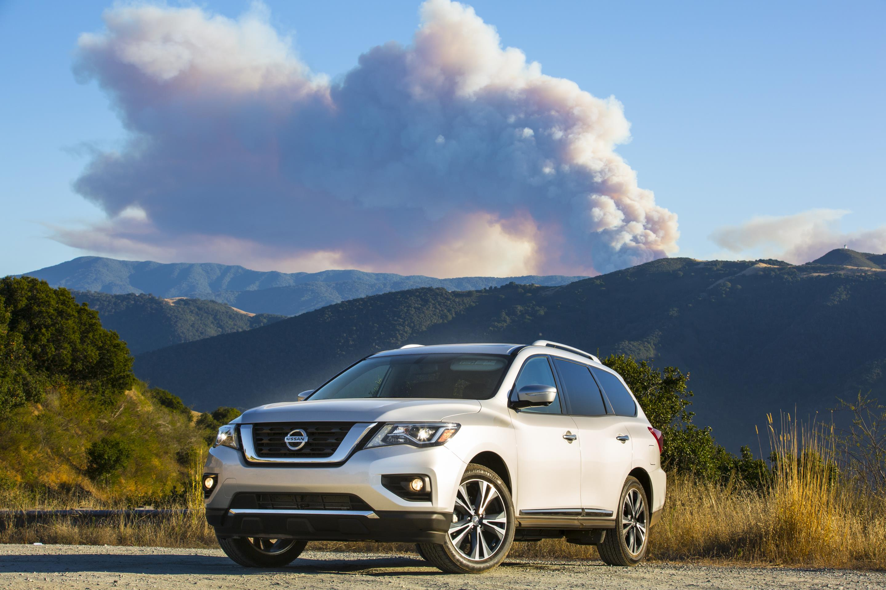 Nissan Pathfinder, one of Nissan's top selling vehicles in calendar year 2017