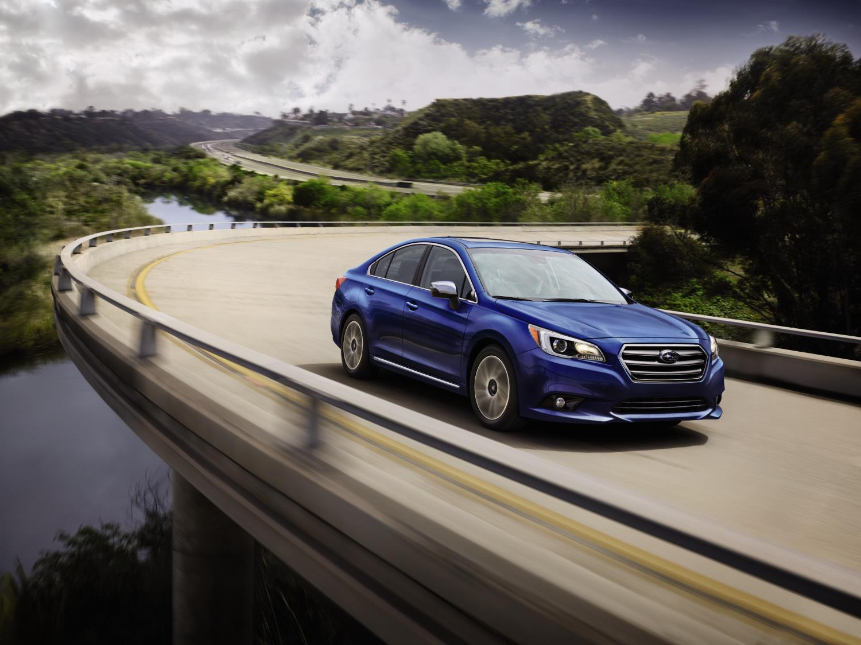 Subaru Legacy, one of Subaru's top selling vehicles in calendar year 2017