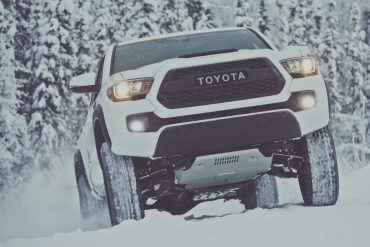 Toyota Tacoma, one of Toyota's's top selling vehicles in the USA in 2017