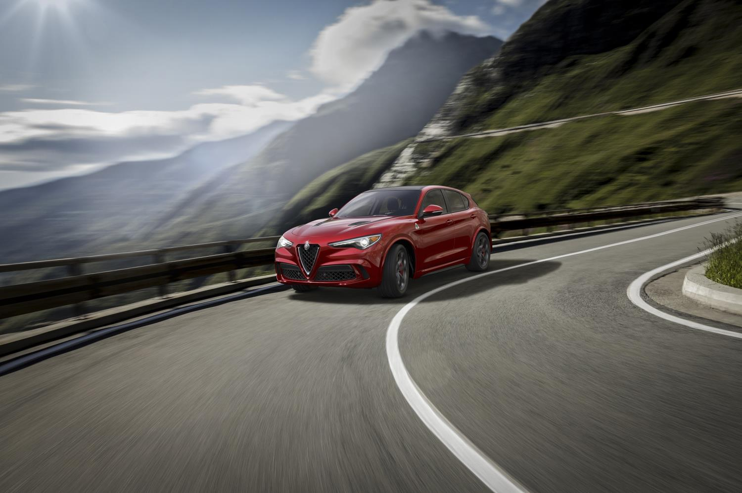 Fiat Chrysler Automobiles has reported record profits in 2017. Pictured: Alfa Romeo Stelvio