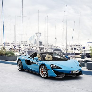 The McLaren 570S, which was launched in June. McLaren Automotive acheived another year of sales records in 2017.