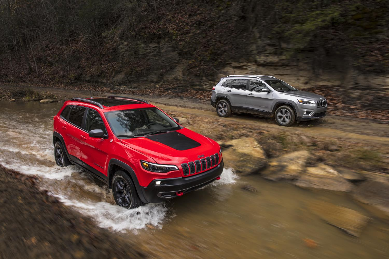 Fiat Chrysler Automobiles has reported record profits in 2017. Pictured: Jeep Cherokee