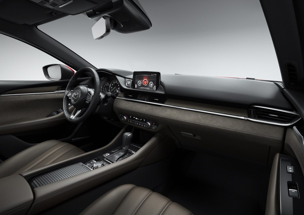 2018 Mazda 6 Signature Interior - Image: Mazda