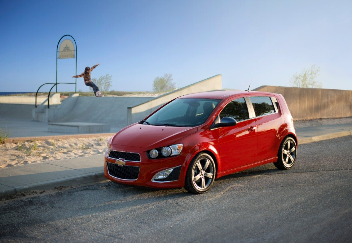 2014 Chevrolet Sonic - Image: Chevrolet