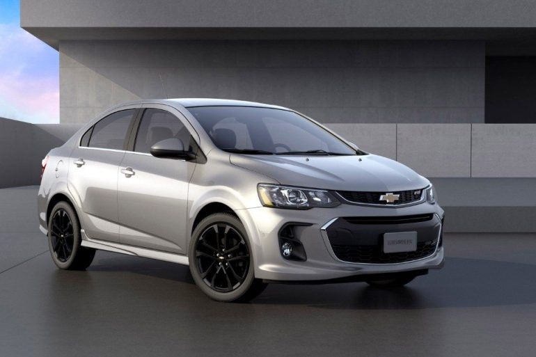 2018 Chevrolet Sonic - Image: Chevrolet