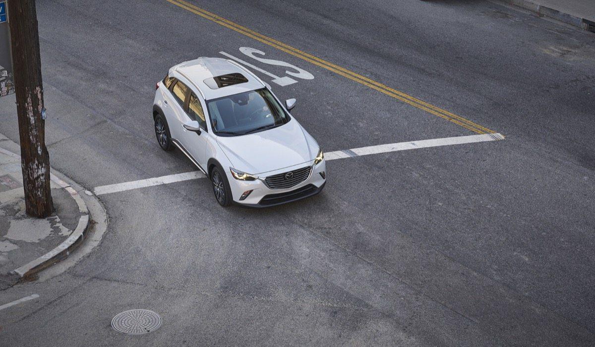 2018 Mazda CX3 white