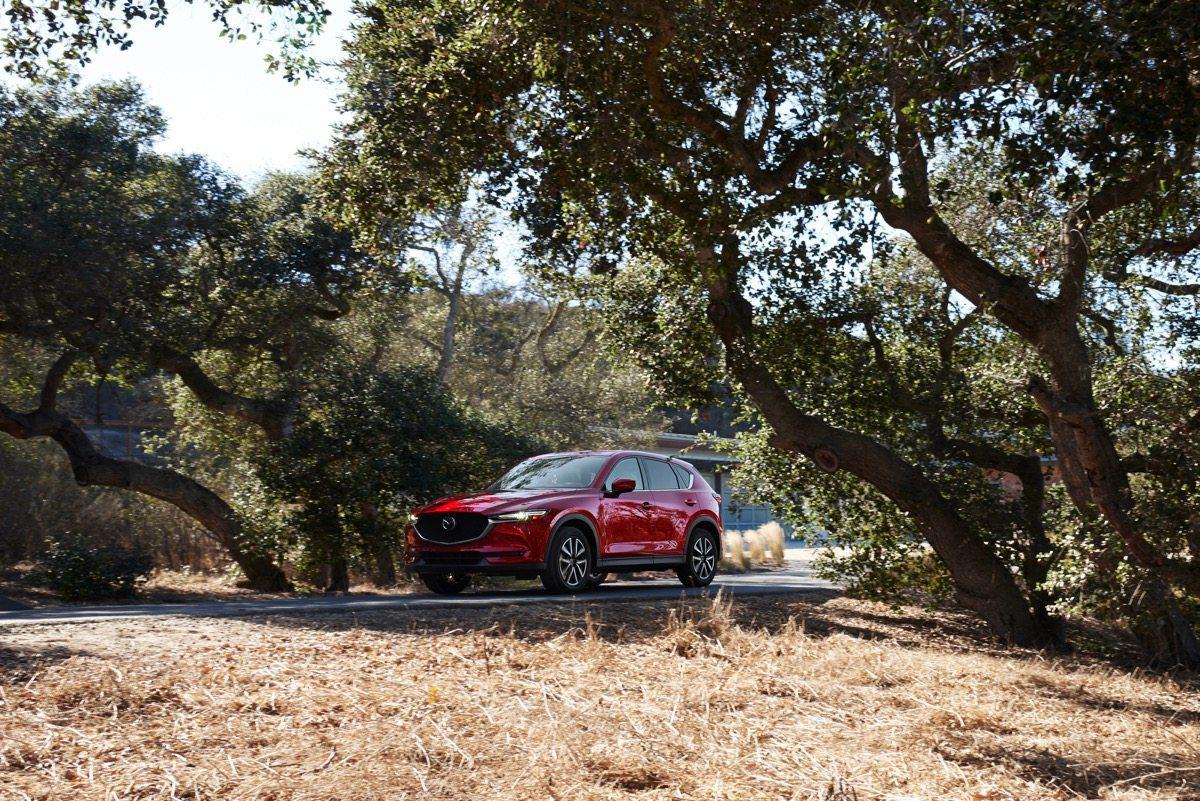 2018 Mazda CX5 red
