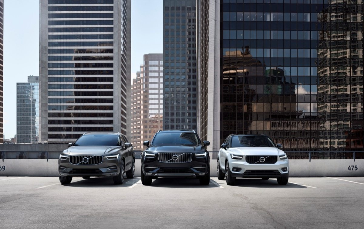Volvo Cars' SUV line-up - Image: Volvo