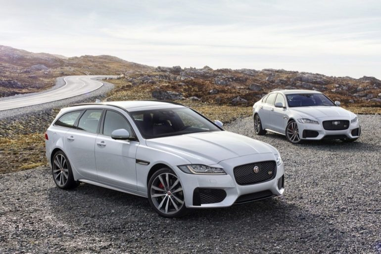 2018 Jaguar XF Sportbrake and Sedan - Image: Jaguar