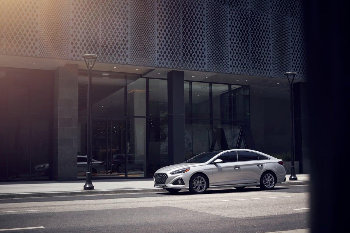 2018 Hyundai Sonata - Image: Hyundai