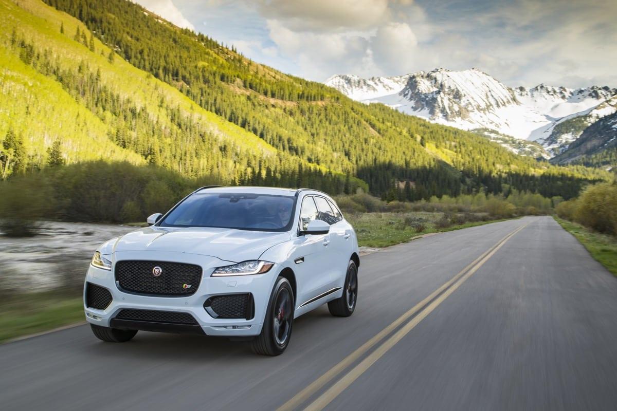 2018 Jaguar F-Pace white - Image: Jaguar