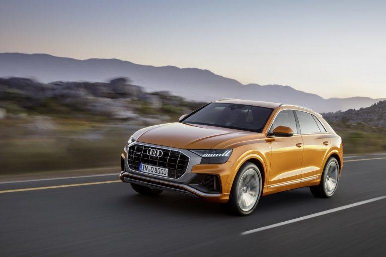 2019 Audi Q8 - Image: Audi