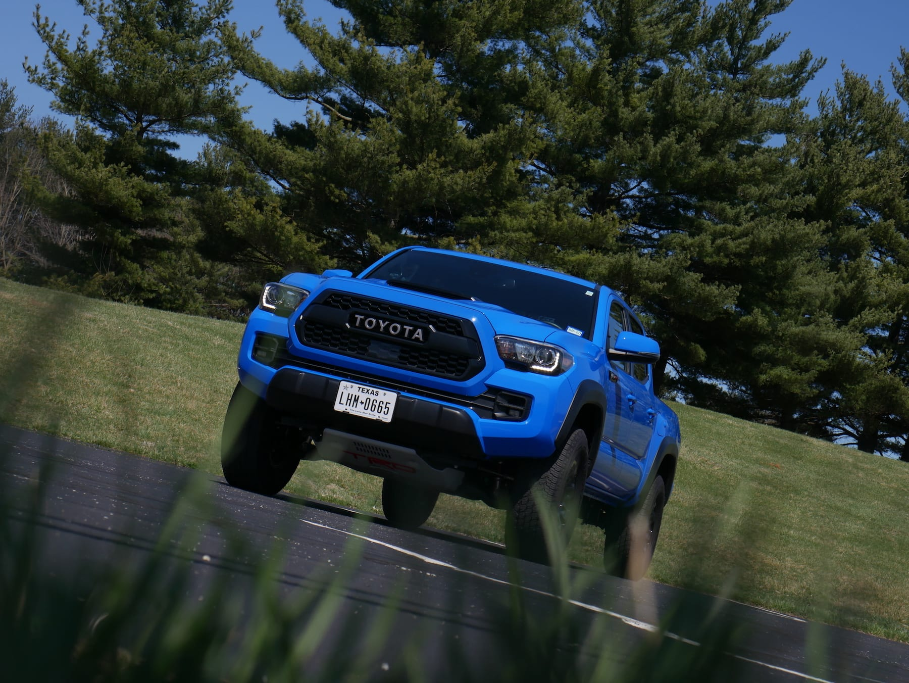 2019 Toyota Tacoma TRD Pro front low