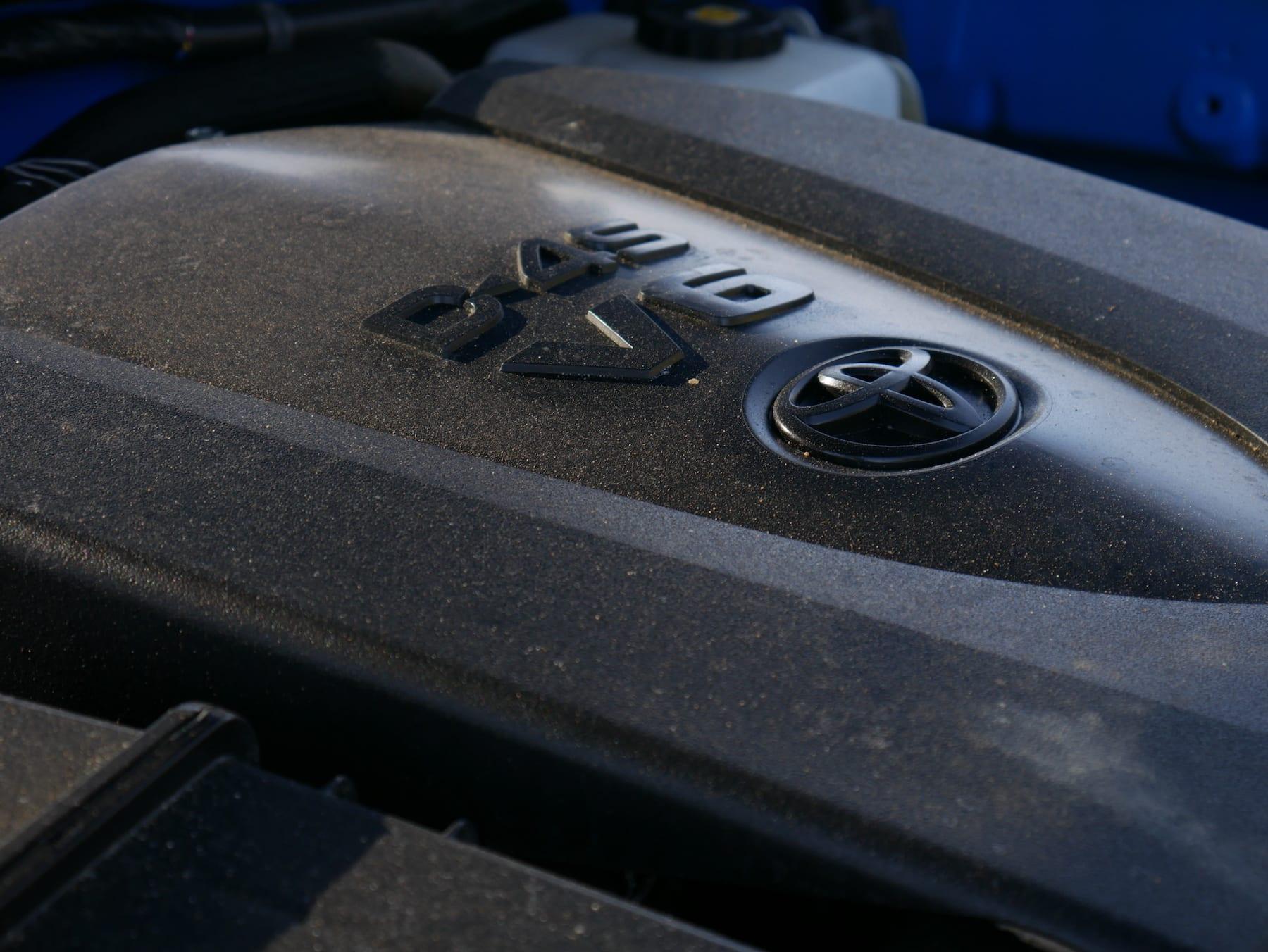 2019 Toyota Tacoma TRD Pro V6 engine