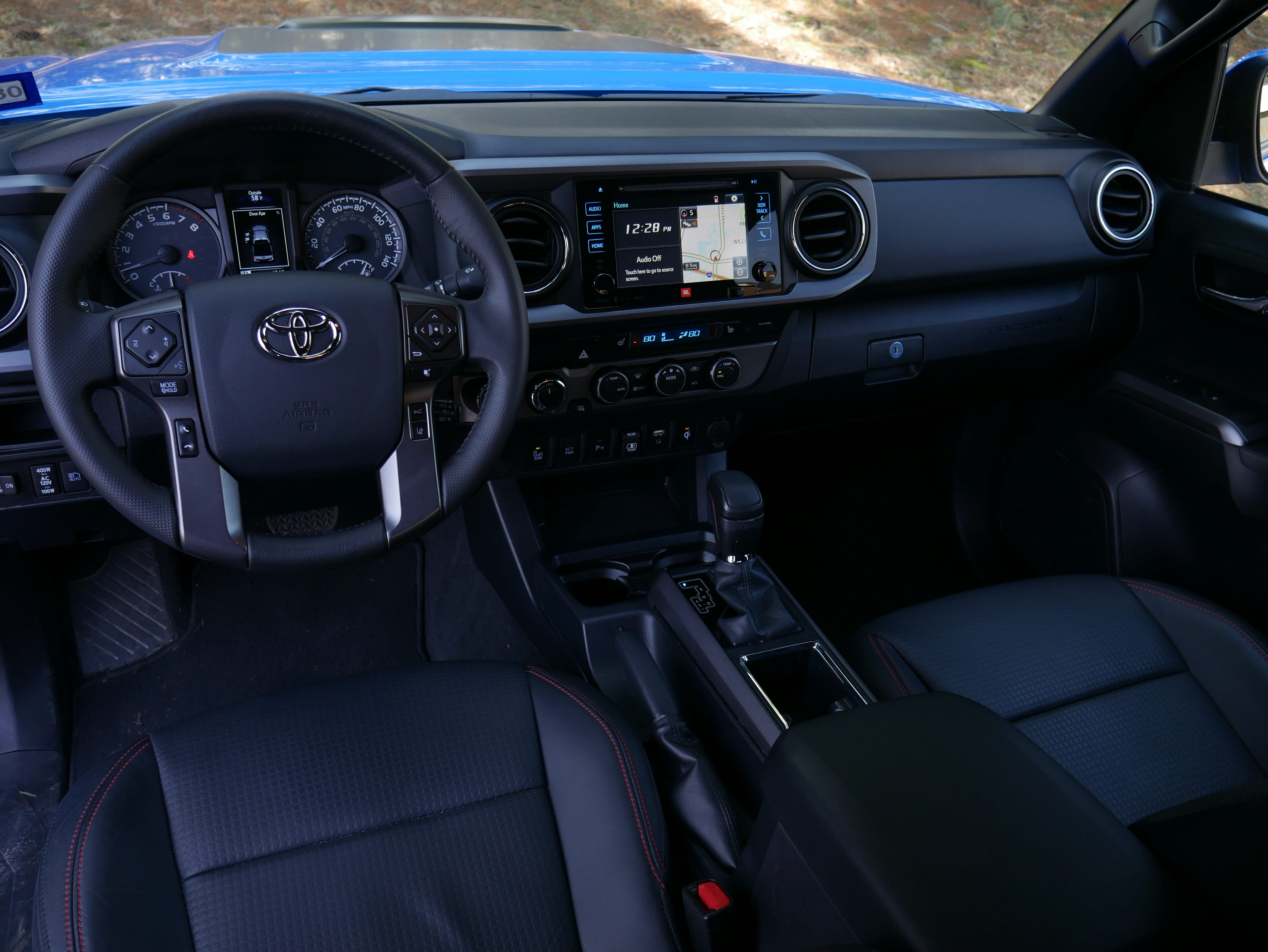 2019 Toyota Tacoma TRD Pro Dash