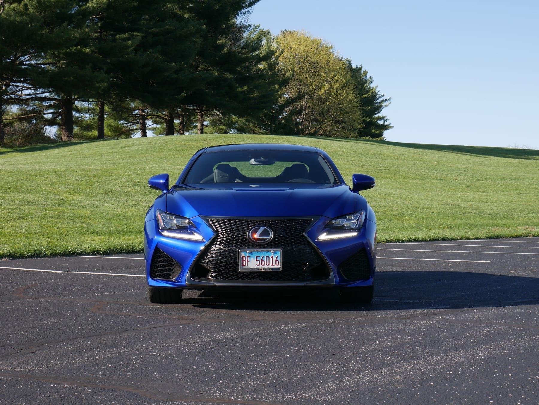 2019 Lexus RC F front view